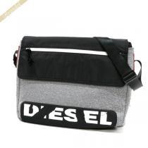 DIESEL スーパーコピー ディーゼル スーパーコピー ショルダーバッグ F-SCUBA メッセンジャーバッグ ブラック×グレー DIESEL LdhMAIqw-1
