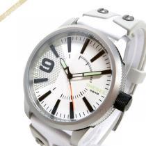 DIESEL スーパー コピー ディーゼル コピー メンズ腕時計 ラスプ Rasp 46mm ホワイト DIESEL 5B4ec1Wa-1