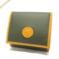 HUNTING WORLD スーパー コピー ハンティングワールド  小銭入れ コインケース BATTUE ORIGIN グリーン 13 10A-1