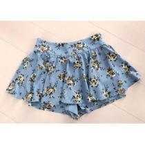 美品  花柄スカート-1