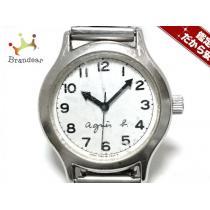 スーパー コピー agnes b(アニエスベー) 腕時計 Y483-0120 レディース シルバー-1