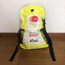 即決 非売品 2004 アテネオリンピック KIRIN asics  リュック-1
