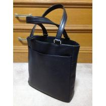 アニエスベー レザー ハンド トートバッグ 革鞄 黒 ブラック 日本製 ポーター 肩掛け-1