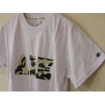 エイプ 半袖Tシャツ 白 Lサイズ スーパーコピー A BATHING  ape ca cha-1