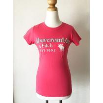[Abercrombie&Fitch スーパーコピー]★レッドカラー・Tシャツ・サイズ[M]★-1