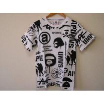 エイプ 半袖Tシャツ 白 Mサイズ スーパーコピー A BATHING  ape manny-1