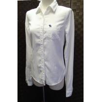 Abercrombie & Fitch スーパー コピー/綿100% ボタンダウンシャツ/サイズS-1
