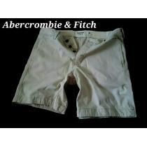 【Abercrombie&Fitch 】Vintage プレッピーフィット ショートパンツ 36/L.Khaki-1