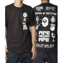 †完売御礼†APE×STUSSY スーパーコピー†コラボレーションTシャツ-1