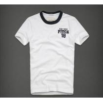【Abercrombie&Fitch 】Vintage  アップリケロゴTシャツ XL/White-1