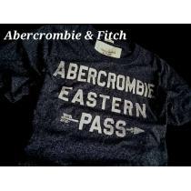 【Abercrombie&Fitch スーパーコピー】旗艦店限定品 アバクロ Vintage Tシャツ XL/Navy-1