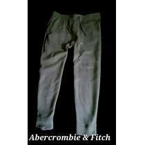 【Abercrombie&Fitch 】アバクロ 高性能 Active スウェットジョガー L/Gray-1