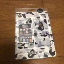 新品 スーパーコピー A BATHING  APE エイプ iPhone 着せ替えプロテクター シール-1