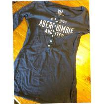 アバクロンビー&フィッチ コピー 肘袖 美品Mストレッチ美スタイル-1