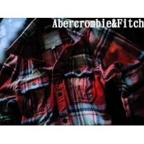 【Abercrombie&Fitch コピー】最高峰 Vintage 厚手フランネルシャツ XXL/Orange-1