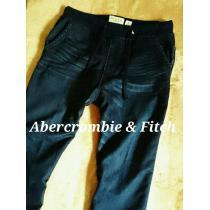 【Abercrombie&Fitch コピー】アバクロ Vintage スウェットジョガーデニム L/D.Wash-1