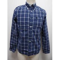4052019 アバクロ ボーイズ用 長袖チェックシャツ XL-1