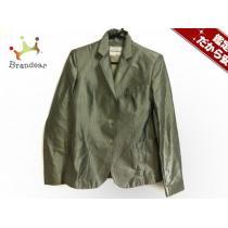 エンポリオアルマーニ スーパーコピー スーパーコピー ジャケット38 レディース美品  ライトグリーン×アイボリー-1