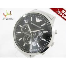 コピー EMPORIOARMANI(アルマーニ  コピー) 腕時計 AR-2434 メンズ 黒-1