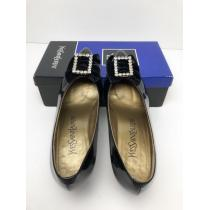 X035 美品★ イヴサンローラン  靴 パンプス ハイヒール 36 1/2-1