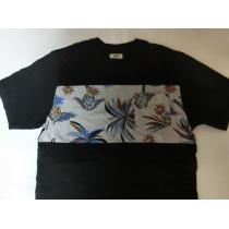 USA購入アメカジ【VANS スーパーコピー】バンズ ポケット付TシャツUS S 黒系絵柄-1