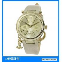 新品 即買い■ヴィヴィアン ウエストウッド コピー 腕時計 VV006GDCM-1