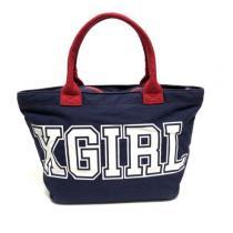 X-girl ×DISNEY エックスガール コピー ミッキー コラボ トートバッグ-1