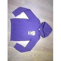 エックスガール /パーカー/フード付/サイズ1=Sサイズ/紫色-1
