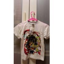 ハワイ購入エドハーディー コピーキッズ用Tシャツ新品豹-1