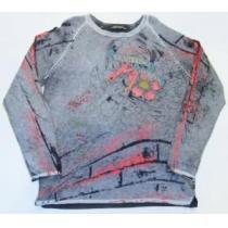 AL15)セールED Hardy スーパー コピーデザインセーター(EHM572)L-1