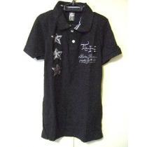 ‡ED Hardy スーパーコピー‡エドハーディー ‡刺繍‡半袖ポロシャツ‡-1