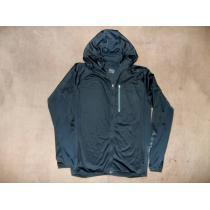 完売 オークリー スーパーコピー フード付 薄手 ジャケット 黒 ブラック L-1