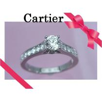 Cartier スーパーコピー カルティエ スーパーコピー ソリテール 1895 0.41ct リング 47 新品同様★dot-1