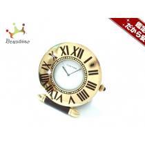 Cartier (カルティエ ) 小物 ゴールド 置時計(動作確認できず) 金属素材-1
