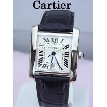 Cartier  カルティエ  18KWG タンクフランセーズ LM 自動巻 W5001156★dot-1