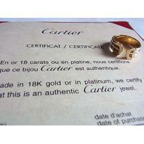 Cartier コピーカルティエ スーパーコピー2Cリング指輪49 10号k18金750証明書-1