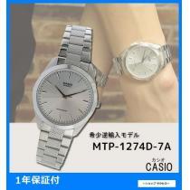 新品 即買い■カシオ スーパーコピー メンズ 腕時計 MTP-1274D-7ADF シルバー-1