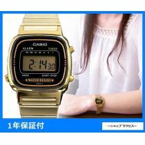 新品 即買い■カシオ  レディース 腕時計 LA670WGA-1UWD-1