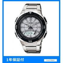 新品 即買い■カシオ スーパーコピー アナデジ ソーラー 腕時計 AQS800WD-7E-1
