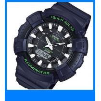 新品 即買い■カシオ スーパーコピー アナデジソーラー 腕時計 AD-S800WH-2A-1