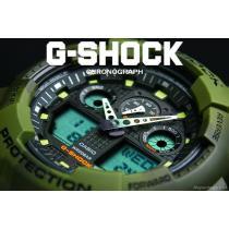 送料込 G-SHOCK CASIO コピー カシオ スーパーコピー 迷彩カモフラ 1/1000秒クロノGR-1