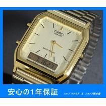 新品 即買い■カシオ コピー アナデジ 腕時計 AQ230GA-9D★-1