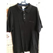 ポロシャツ カルバンクライン コピー 90s 黒 L-1