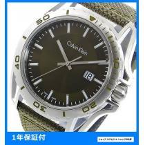 新品 即買い■カルバン クライン 腕時計 K5Y31XWL グリーン-1