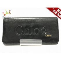 chloe スーパーコピー(クロエ ) 長財布 シャドウ 黒 レザー-1