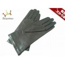 chloe スーパーコピー(クロエ スーパーコピー) 手袋20CM レディース ダークブラウン レザー-1
