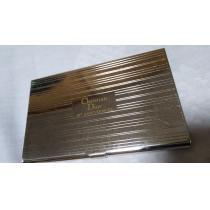 コピーレア 40th ディオール ストライプシルバーカードケース メタル名刺入れ イルミネーション-1