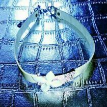 新品 Dior ディオール チョーカー ネックレス りぼん-1