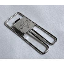 コピー良 限定 ディオールDior CDRロゴ オープンマネークリップ シルバー 財布-1
