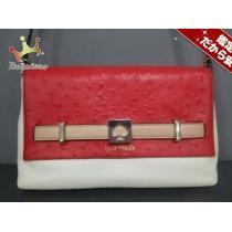 ケイトスペード スーパー コピー ショルダーバッグ美品  WKRU3175 レッド×白×ライトブラウン-1